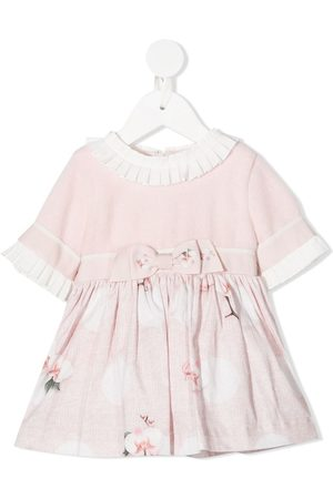 Lapin House Floral short-sleeve dress