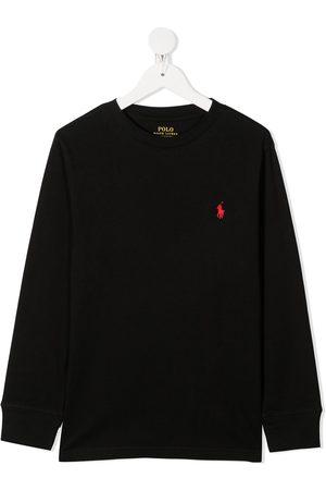 Ralph Lauren Embroidered logo cotton sweatshirt