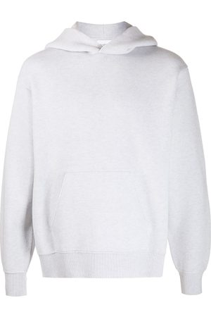 Barrie Ideal rib-trimmed oversized hoodie - Grey
