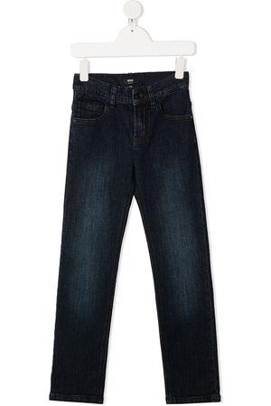 HUGO BOSS Boys Straight - Straight-leg jeans