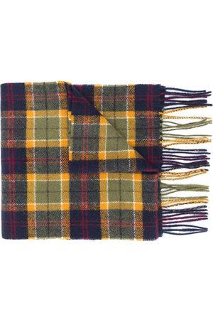 Barbour Tartan lambswool scarf