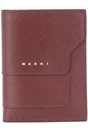 Marni Logo-print leather wallet