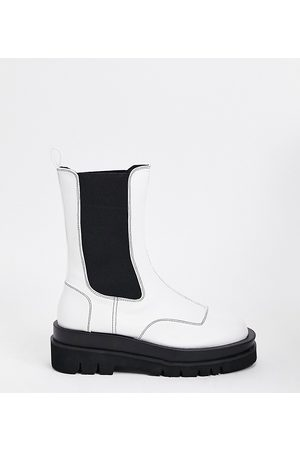 Z_Code_Z Exclusive Nora vegan-friendly chunky chelsea boots in