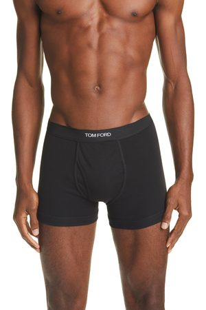 Tom Ford Men's 2-Pack Cotton Jersey Boxer Briefs