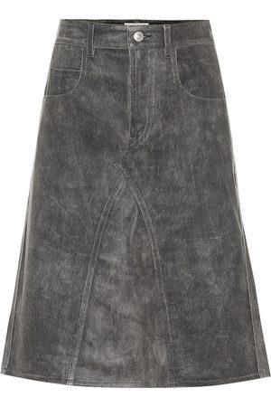 Isabel Marant, Étoile Fiali leather midi skirt