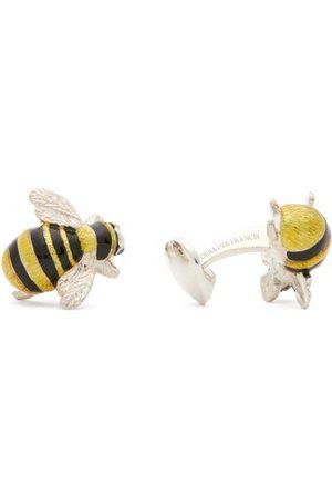 DEAKIN & FRANCIS Bee Sterling-silver Cufflinks - Mens
