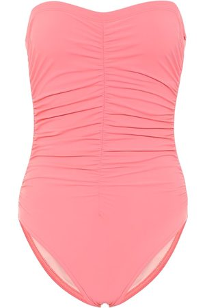 Karla Colletto Basics bandeau swimsuit