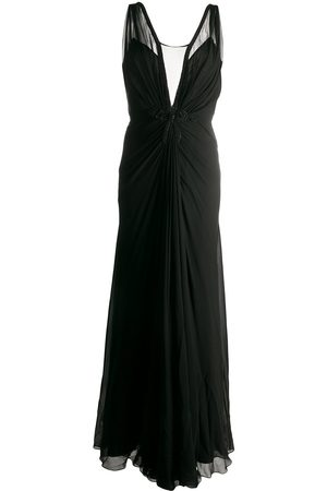 PORTS 1961 Sheer panel gown