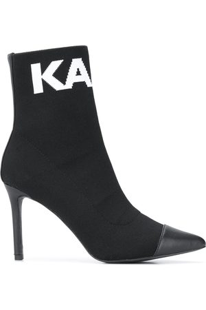 Karl Lagerfeld Pandora knitted ankle boots