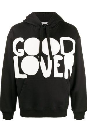 VALENTINO Good Lover print hoodie