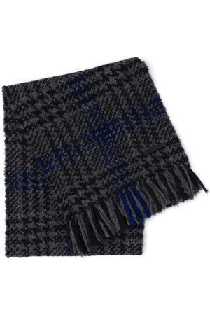 Prada Prince of wales checked scarf - Grey