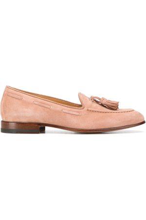 Scarosso Elisa suede loafers - Neutrals