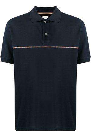 Paul Smith Rainbow stripe polo shirt