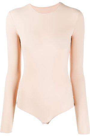 Maison Margiela Long sleeve bodysuit - Neutrals