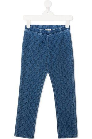 Kenzo Tiger print jeans