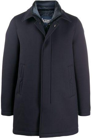 HERNO Short collared coat