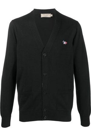 Maison Kitsuné Button-up wool cardigan