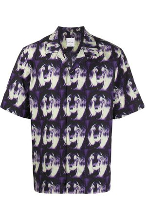 Paul Smith Printed short-sleeved shirt
