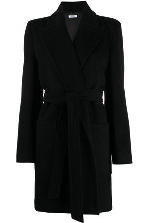 P.a.r.o.s.h. Women Coats - Belted cashmere midi coat