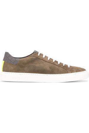 HIDE&JACK Contrast-panel low-top sneakers