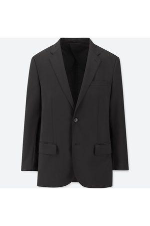 UNIQLO Men's Stretch Wool Jacket, , 32 in.