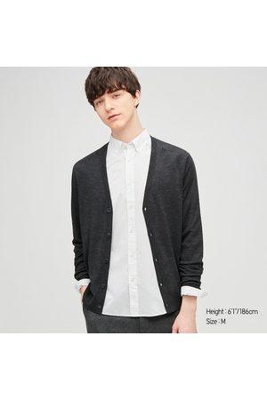 UNIQLO Men's Extra Fine Cotton Broadcloth Long-Sleeve Shirt, , XS