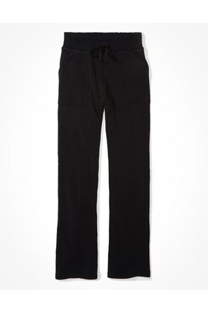 American Eagle Outfitters High-Waisted Forever Fleece Flare Sweatpant Women's XXS