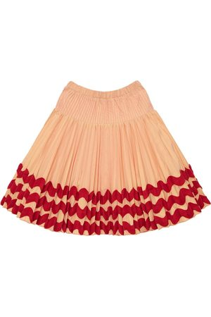 TIA CIBANI Genoveva Pleated Skirt