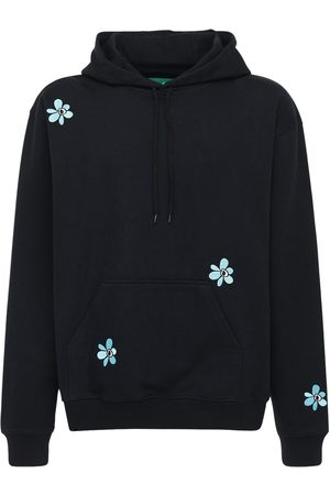 PAM PERKS AND MINI Logo Embroidery Cotton Sweatshirt Hoodie