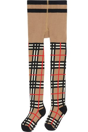 Burberry Toddler Girl's Check Tights