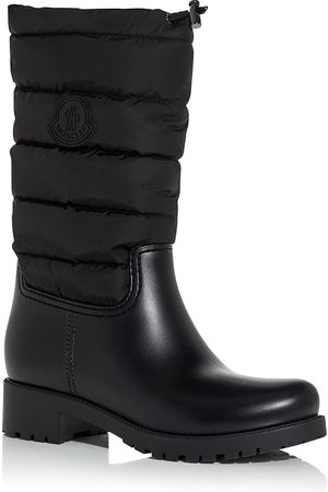 Moncler Women Rain Boots - Women's Ginette Channel-Quilted Rain Boots