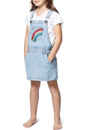 Zadig & Voltaire Girls' Rosie Ann Denim Overall Dress - Little Kid, Big Kid