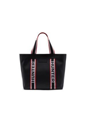 Hunter Original Rubberized Leather East-west Tote Bag