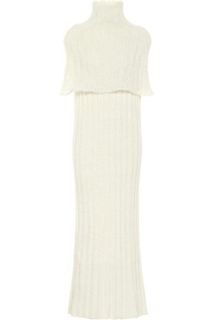 Jil Sander Women Knitted Dresses - Ribbed-knit maxi dress