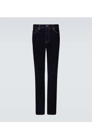 AMIRI Relaxed velvet denim jeans