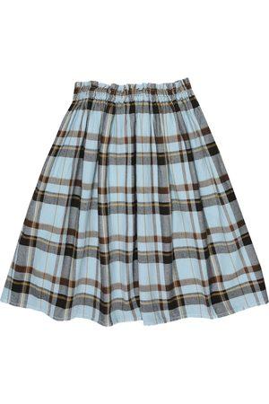 MORLEY Mercedes checked cotton skirt