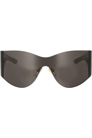 Balenciaga Women Round - Mask round sunglasses