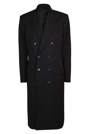 Balenciaga Double breasted fitted coat