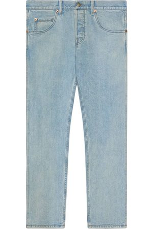 Gucci Five-pocket straight-leg jeans