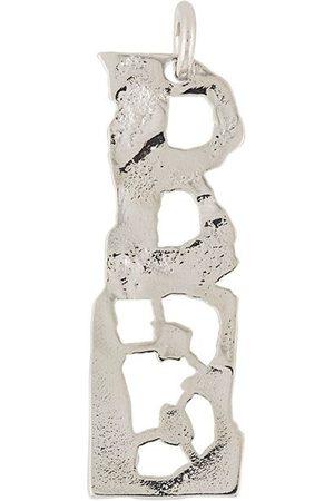 Acne Studios B-shaped pendant