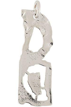 Acne Studios D-shaped pendant