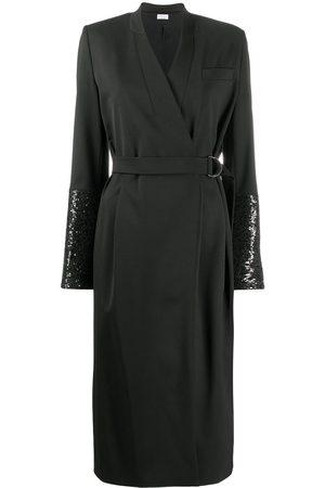Brunello Cucinelli Wrap-style dress