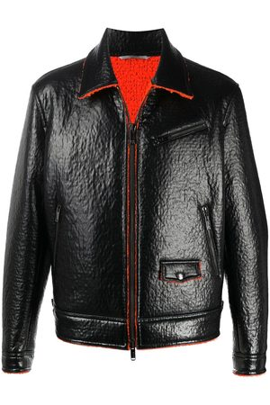 VALENTINO Shearling biker jacket