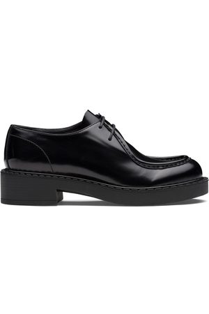 Prada Chunky leather Derby shoes