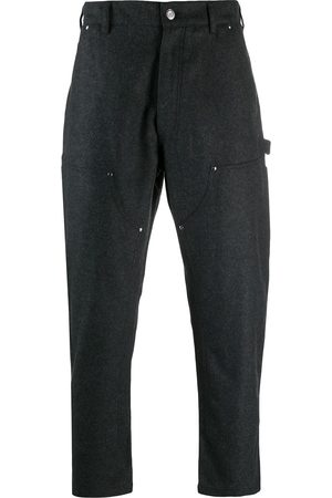 Golden Goose Multi-pocket cropped trousers - Grey