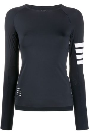 Thom Browne 4-Bar lightweight tech compression top
