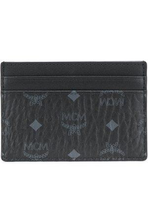 MCM Men Wallets - Monogram print wallet