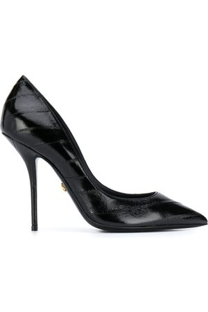 Dolce & Gabbana Women Heels - Cardinal leather pumps