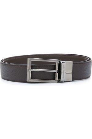 Ermenegildo Zegna Men Belts - Engraved logo belt