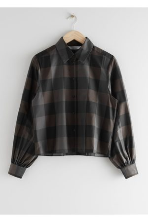 & OTHER STORIES Boxy Button Up Shirt
